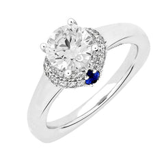 Bridal Ring-RE13284W10R