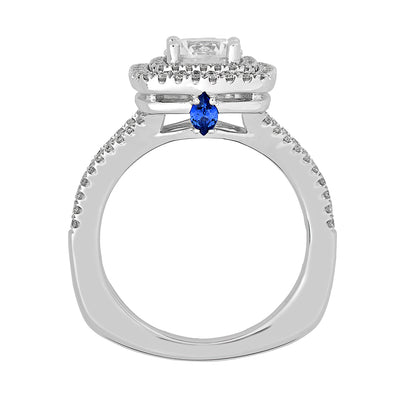 Bridal Ring-RE13309W10R