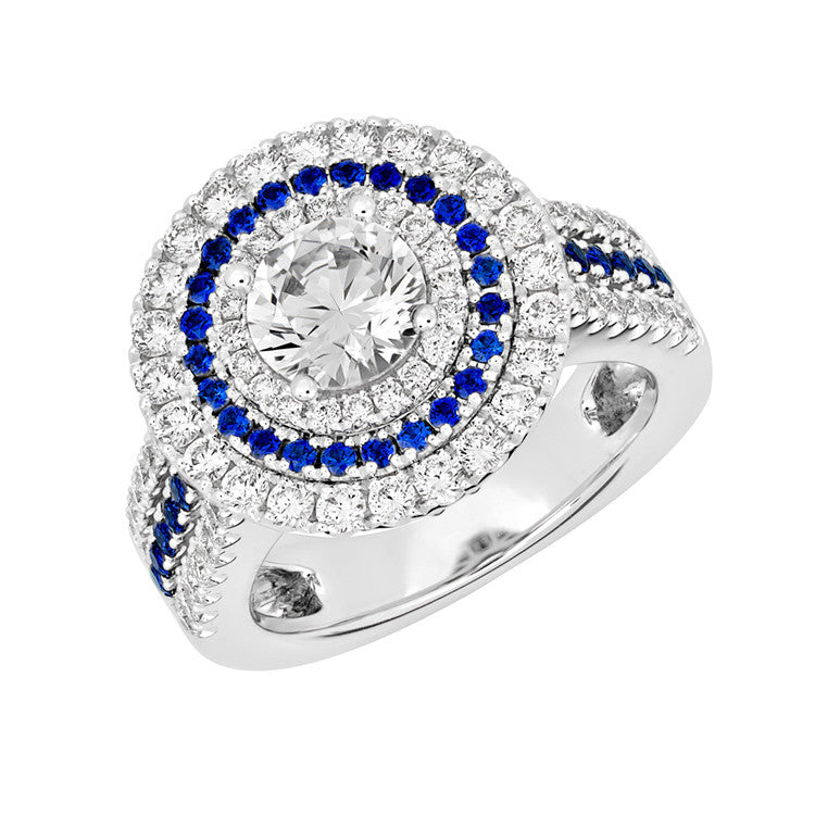 Bridal Ring Round Brilliant
