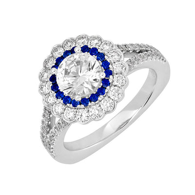 Bridal Ring-RE13318W10R