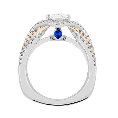Bridal Ring-RE13327WR10PS