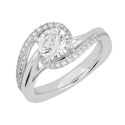 Bridal Ring-RE13329W10R