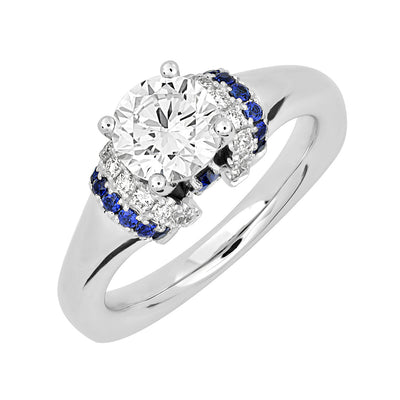 Bridal Ring-RE13334W10R