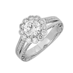 Bridal Ring-RE13338W10R