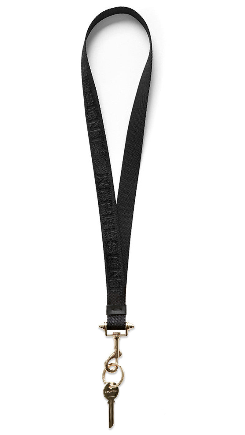 Black / Gold Lanyard