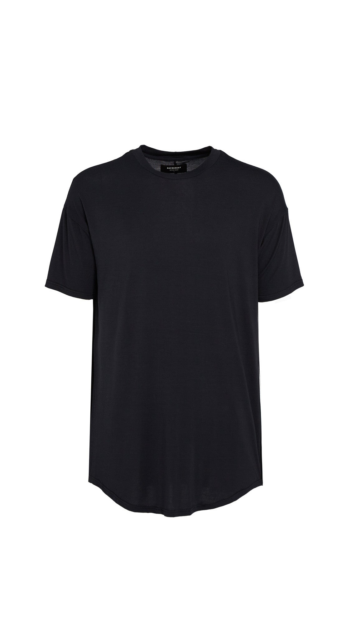 Essential Scooped T-shirt - Black