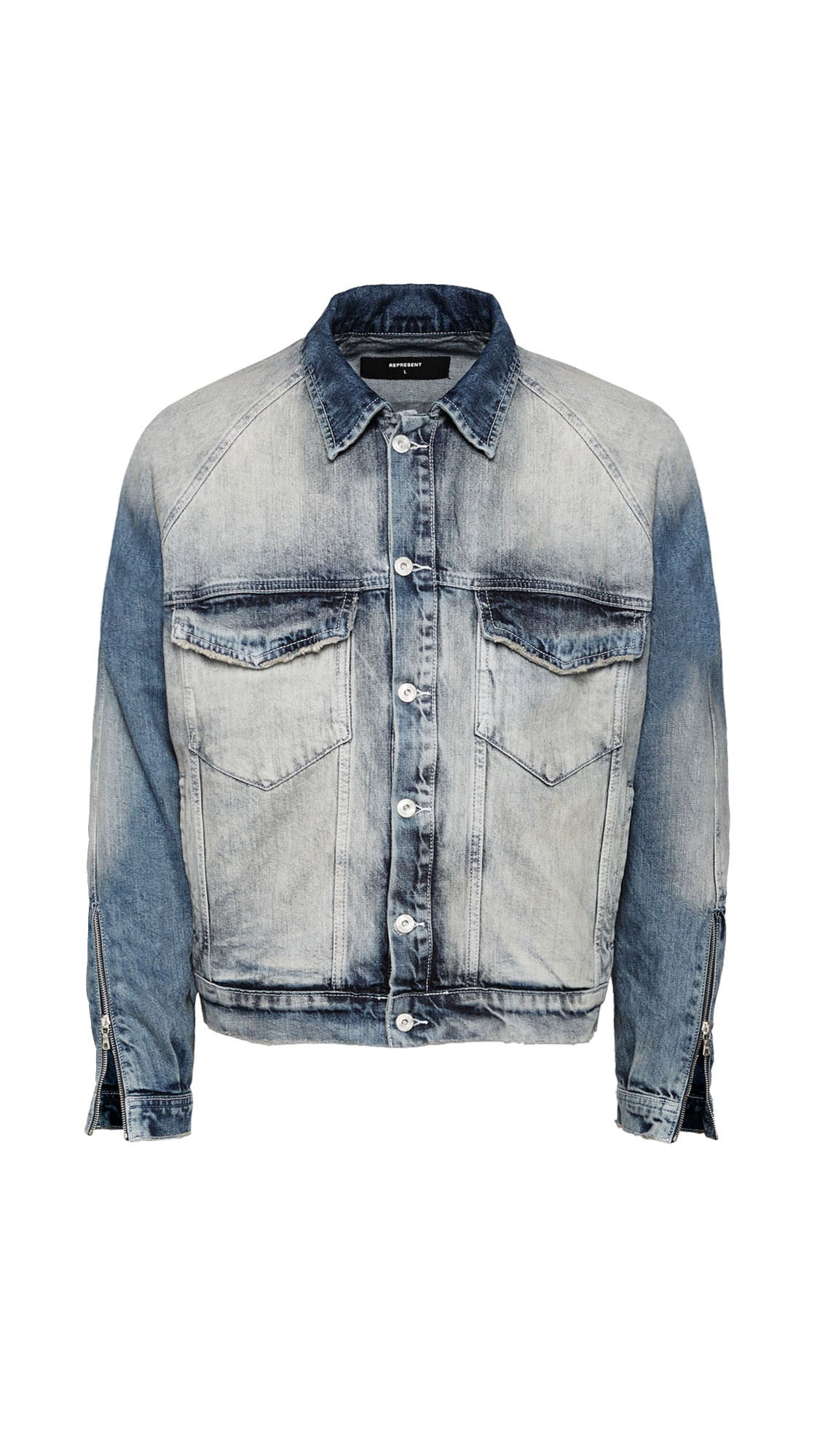Basic Selvedge Denim Jacket - Random Blue