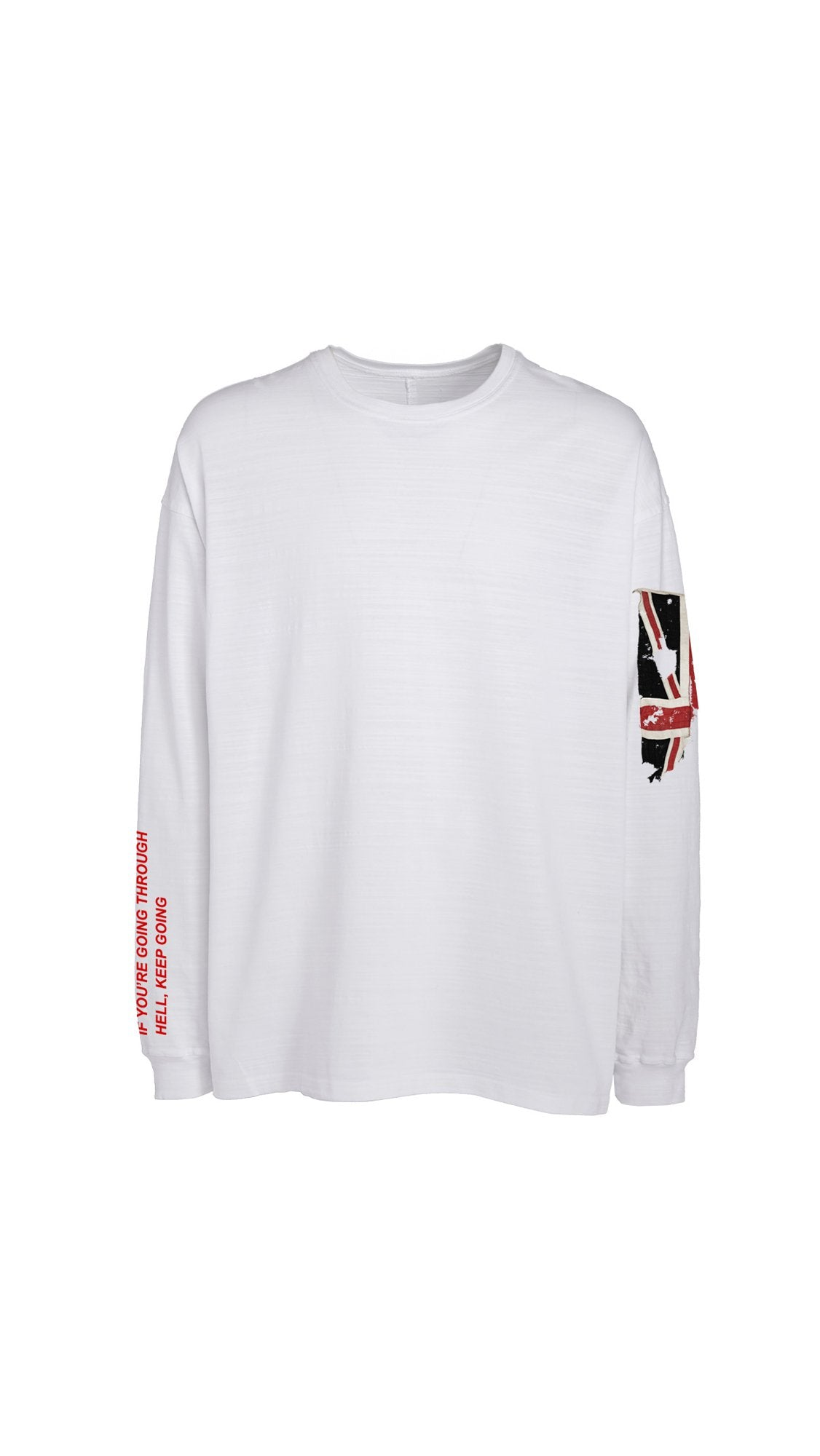 Hell Long Sleeve T-shirt - White