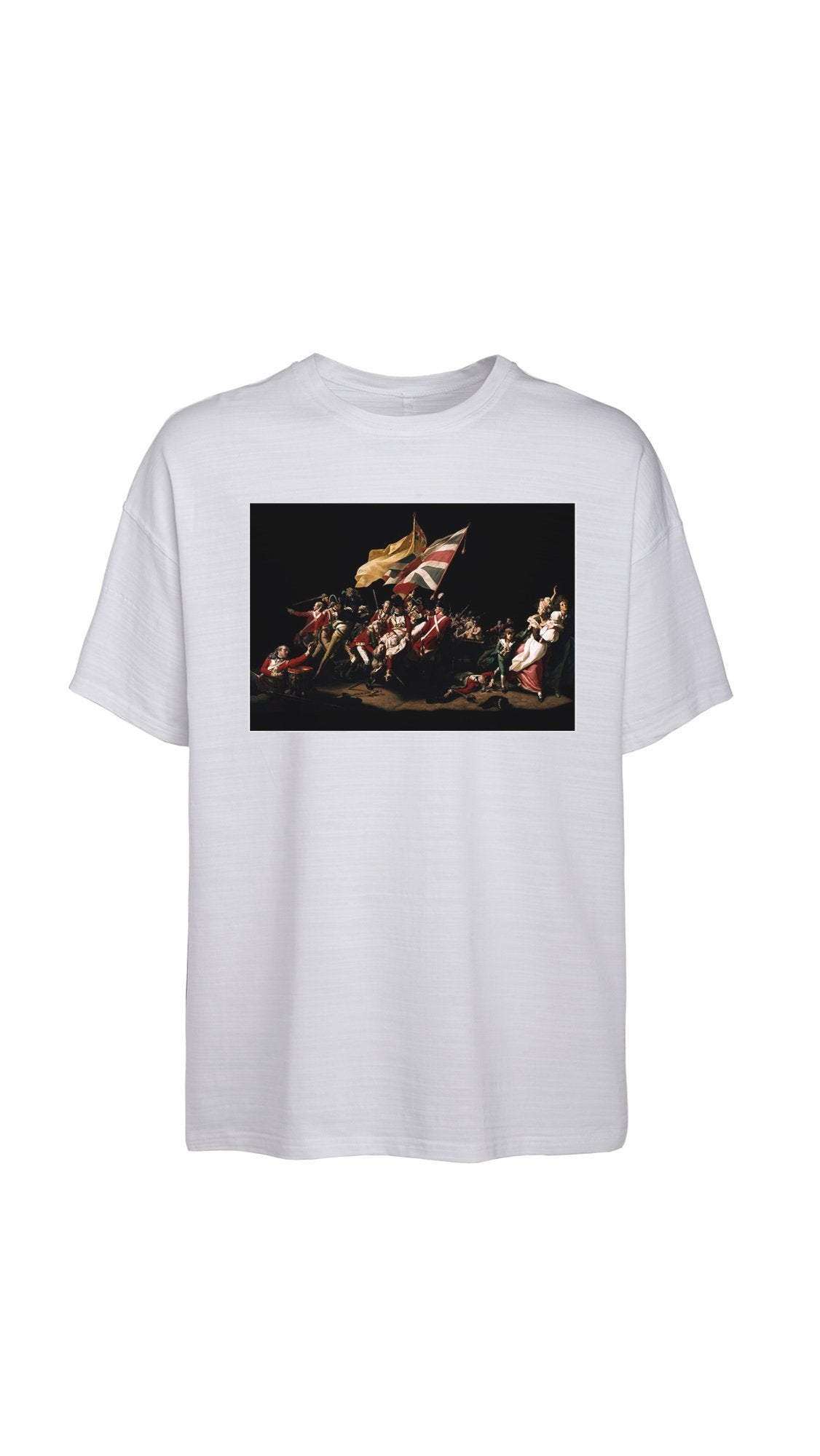 Battle T-Shirt - White