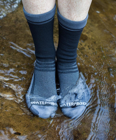 Lightweight Waterproof Socks - Crosspoint Classic