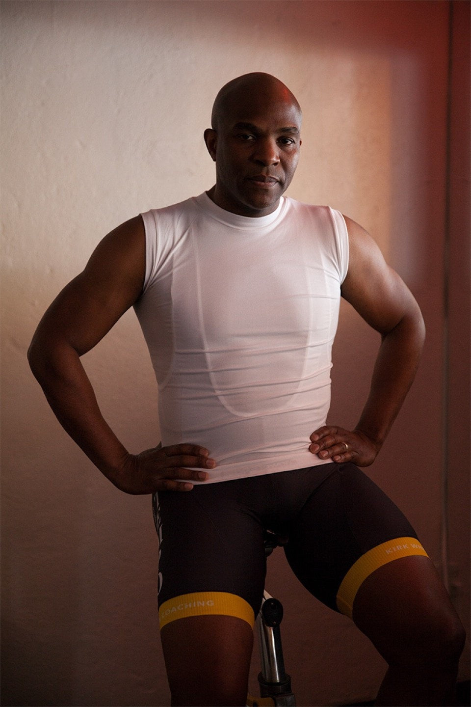 Men's Sleeveless Body-Mapped Baselayer