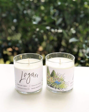 Legare Flower Box Candle || Charleston Candle Co. x Texture Design Co.