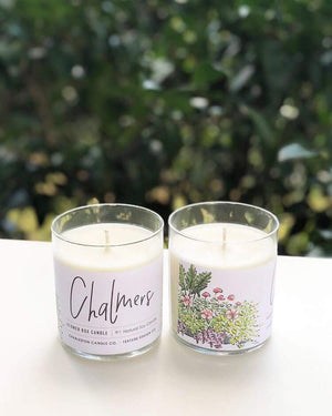 Chalmers Flower Box Candle || Charleston Candle Co. x Texture Design Co.