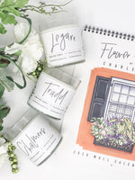 Tradd Flower Box Candle || Charleston Candle Co. x Texture Design Co.