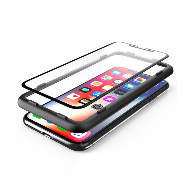 3D Glass Screen Protector for iPhone 6.5 inch 2018 and 2019-Clear