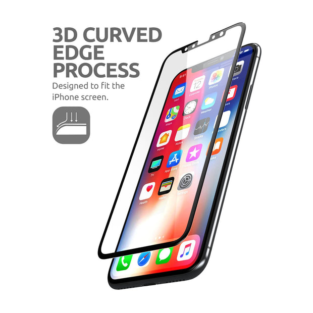 3D Glass Screen Protector (2 pack) for iPhone 6.5 inch 2018 and 2019