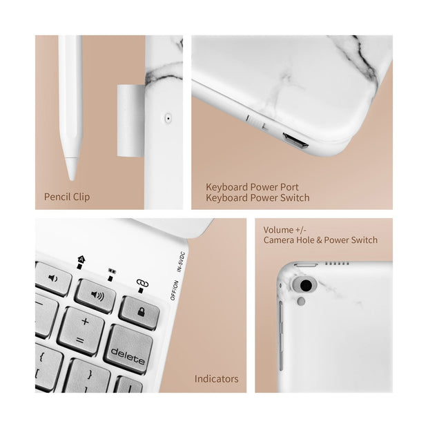 iPad 9.7 inch Wireless Keyboard Case