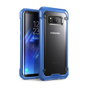 Galaxy S8 Plus Unicorn Beetle Hybrid Protective Bumper Case-Blue