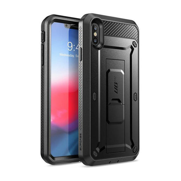 iPhone XS Max Unicorn Beetle Pro Full-Body Holster Case-Black