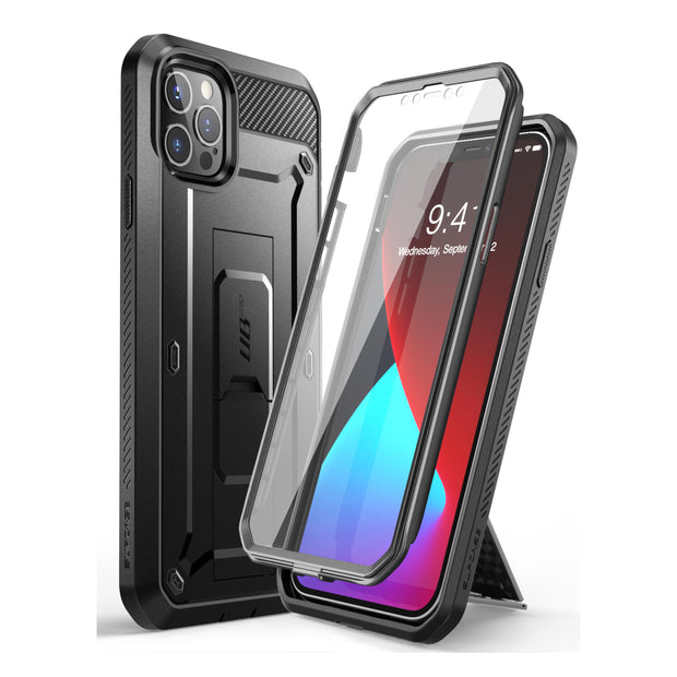 iPhone 12 Pro 6.1 inch Unicorn Beetle Pro Rugged Case-Black