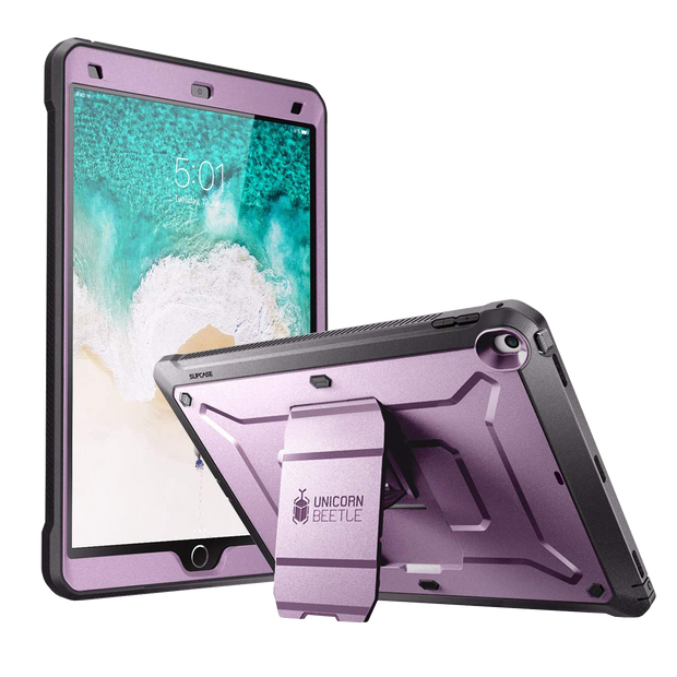 iPad Pro 10.5 inch (2017) Unicorn Beetle Rugged Case with Screen Protector-Metallic Purple