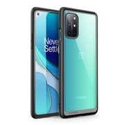 OnePlus 8T Unicorn Beetle Style Clear Bumper Case-Black