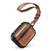 Apple AirPods Pro Unicorn Beetle Royal Rugged Leather Case-Brown