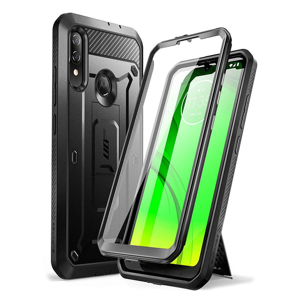 Moto E6 Plus Unicorn Beetle Pro Rugged Case-Black