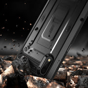 Galaxy A01 (2020) Unicorn Beetle Pro Rugged Holster Case-Black