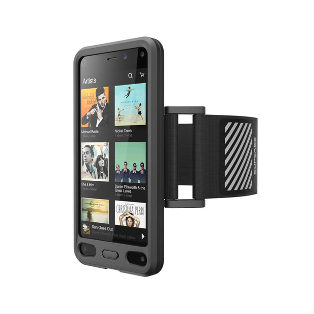 Amazon Fire Phone Easy Fitting Sport Case and Armband Combo by SUPCASE-Black