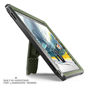 iPad 9.7 inch Unicorn Beetle Pro Full-Body Case-Dark Green