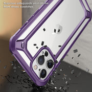 iPhone 12 Pro 6.1 inch Unicorn Beetle Exo with Screen Protector Clear Case-Purple