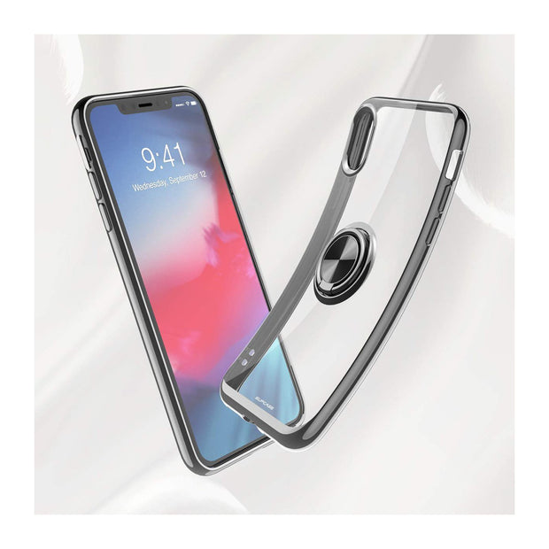 iPhone X/Xs Unicorn Beetle Snap Ring Case