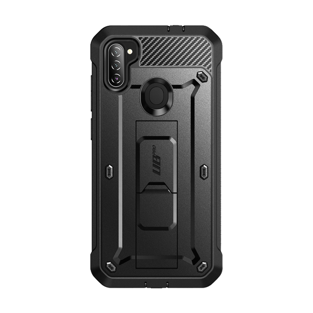 Galaxy A11 (2020) Unicorn Beetle Pro Rugged Holster Case-Black