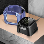 Fitbit Versa 2 Unicorn Beetle Pro Rugged Case-Blue