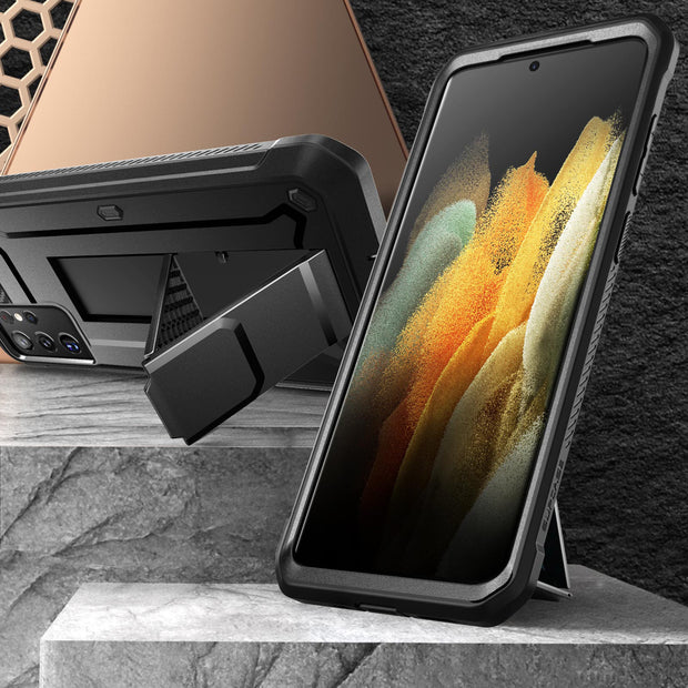 Galaxy S21 Ultra Unicorn Beetle Pro Rugged Case-Black
