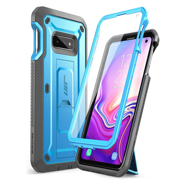 Galaxy S10e Unicorn Beetle Pro Full Body Rugged Holster Case-Blue