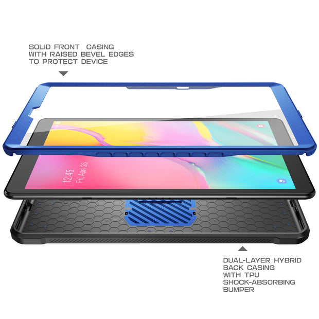 Galaxy Tab A 10.1 inch (2019) Unicorn Beetle Pro Full-Body Case-Dark Blue