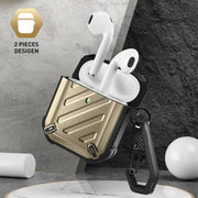 Apple AirPods 1 & 2 Unicorn Beetle Pro Rugged Case-Gold
