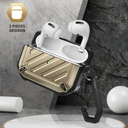 Apple AirPods Pro Unicorn Beetle Pro Rugged Case-Gold