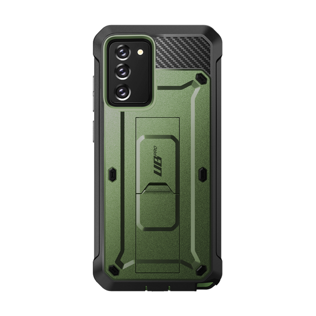 Galaxy Note20 Unicorn Beetle PRO Rugged Holster Case-Dark Green