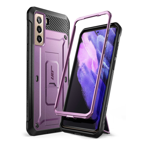 Galaxy S21 Unicorn Beetle Pro Rugged Case-Metallic Purple