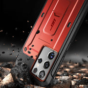 Galaxy S21 Ultra Unicorn Beetle Pro Rugged Case-Metallic Red