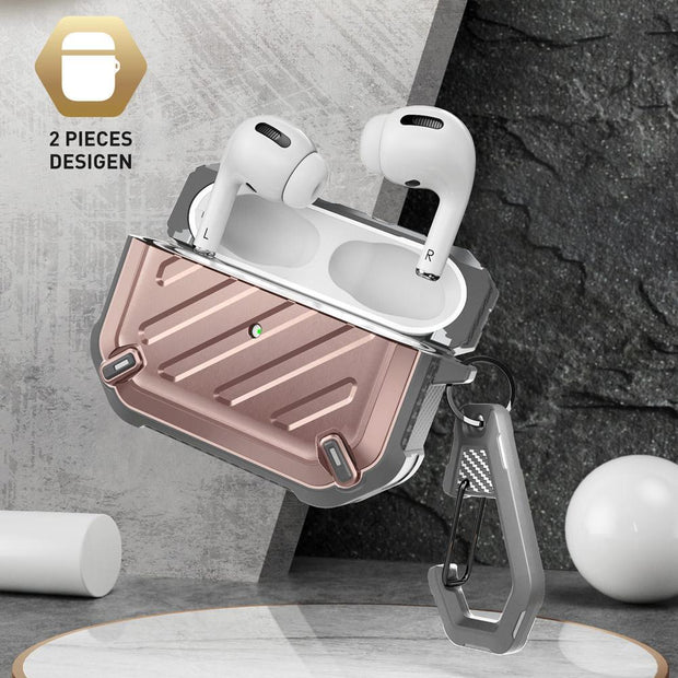 Apple AirPods Pro Unicorn Beetle Pro Rugged Case-Rose Gold