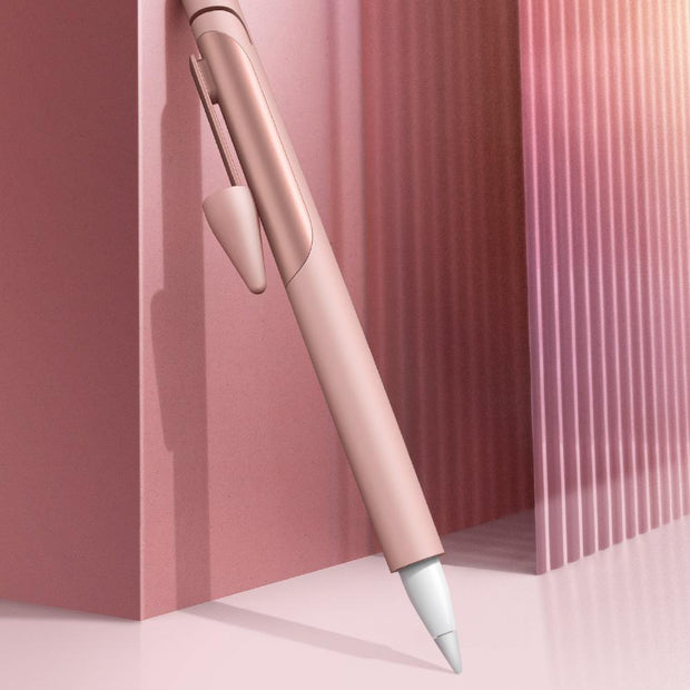 Apple Pencil 1 Silicone Protective Case-Rose Gold