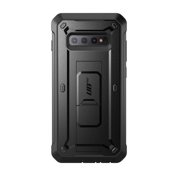 Galaxy S10 Plus Unicorn Beetle Pro Full Body Rugged Holster Case-Black