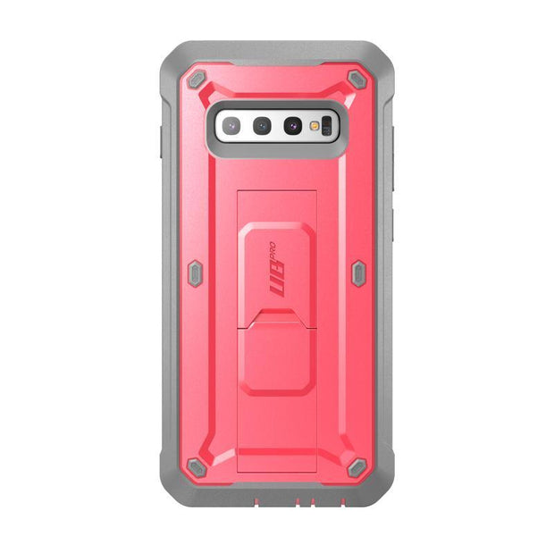 Galaxy S10 Unicorn Beetle Pro Rugged Holster Case Without Screen Protector-Pink