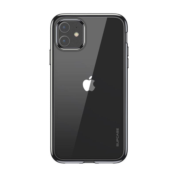 iPhone 11 6.1 inch Unicorn Beetle Electro Slim Clear Case-Black