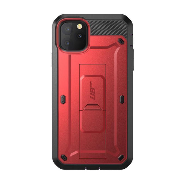iPhone 11 Pro 5.8 inch Unicorn Beetle Pro Full Body Rugged Case-Metallic Red