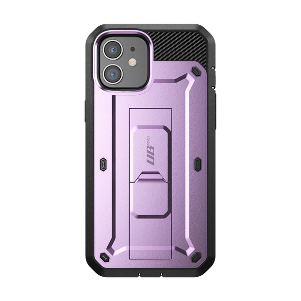 iPhone 12 6.1 inch Unicorn Beetle Pro Rugged Case-Metallic Purple